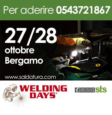welding days Bergamo